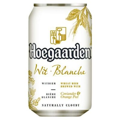 hoegaarden øl dåse