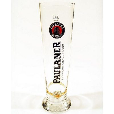 Glas Paulaner alkoholfri