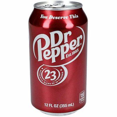 Dr Pepper sodavand